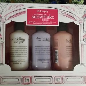 PHILOSOPHY Enchanted Snowflake Forest Gift SET NEW